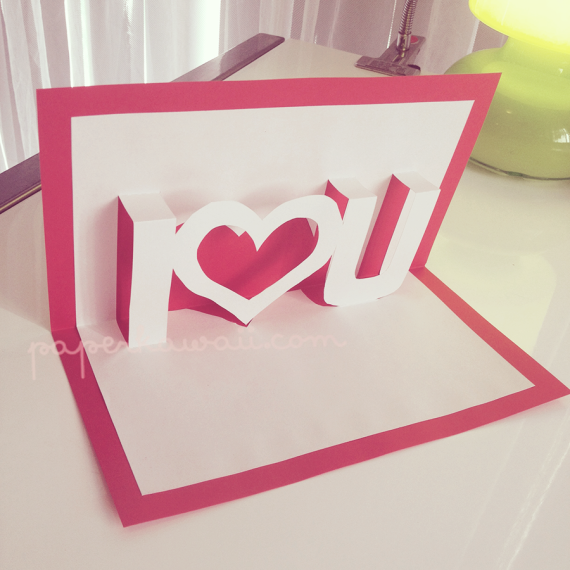 Handmade valentine day cards ideas The popup cards greeting – Homemade Valentine Cards Ideas