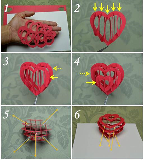 Pop up card greeting card page 2 the pop up cards greeting valentines day pop up card 3d heart detailed tutorial m4hsunfo