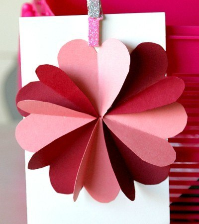 Greeting cards the pop up cards greeting cards aoc craft diy flower by hearts valentines day card tutorial m4hsunfo